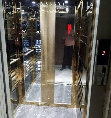 ساخت انواع کابین آسانسور.خدمات رنگ کوره.برش و خم