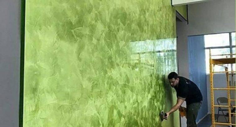 نقاشی ساختمان در تهران