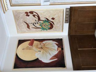ورق طلا، موتیف، نقاشی دیواری
