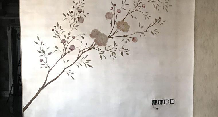 پتینه نقاشی ورق طلا گروه رول دیزاین
