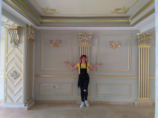 طراحی داخلی(پتینه،ورق طلا،نقاشی دیواری و سقفی)
