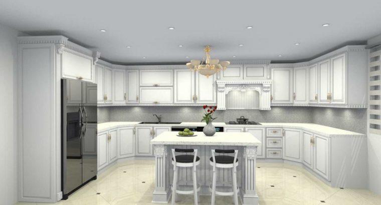 طراحی اجرا و کابینت آشپزخانه