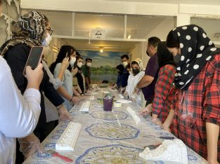 آموزش پتینه جامع ۶ روزه در موسسه رادیس تبریز