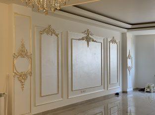 طراحی داخلی و اجرای انواع پتینه وورق طلا و نقاشی سقفی و دیواری